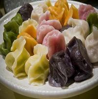五色饺子1