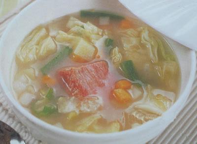 意式田园蔬菜汤